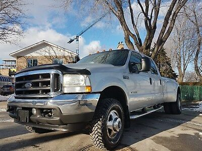 2002 Ford F-350 XLT 7.3 DIESEL 4X4 CREW ONLY 97K MILES&1 OWNER 4x4*CREW*7.3L DIESEL*RARE SILVER COLOR*ULTIMATE LOW MILLAGE*