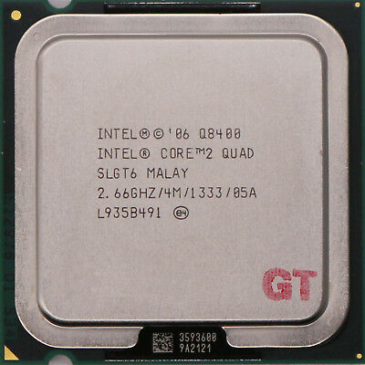INTEL Core 2 Quad Q8400 SLGT6 Yorkfield Socket LGA 775 CPU Processor
