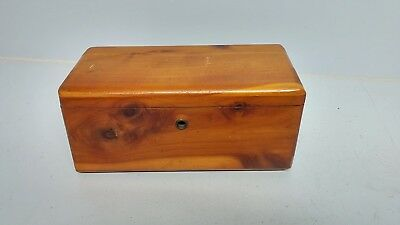 LANE CEDAR CHEST SALESMAN SAMPLE Lyke Furniture Co Altavista Virginia Miniature