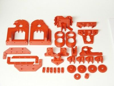 Cyclone PCB Mill Kit CNC Platinenfräse Parts Teile Kit ABS Rot Red