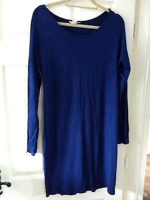 Summer blue maternity dress ~ size L ~ H&M mama ~ excellent condition