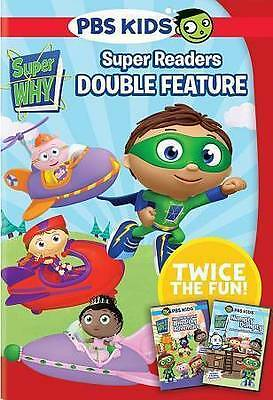 Super Why: Super Reader Double Feature (DVD, 2015, 2-Disc Set) New