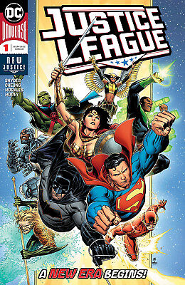 JUSTICE LEAGUE (2018) #1) - Regular Cover - New Bagged