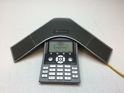 Polycom SoundStation IP 7000 Conference Phone 2201-40000-001 - WORKS FAIR COND.