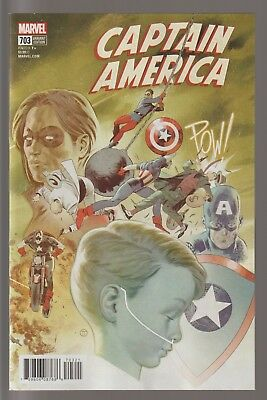 Captain America  #703      * Variant *    Nm