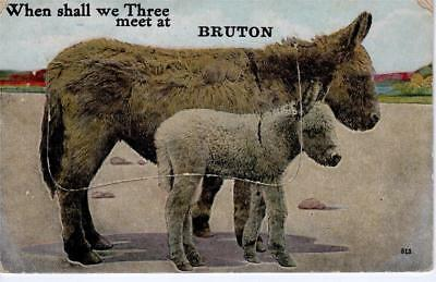 Novelty - When shall we Three meet at BRUTON (Valentine)