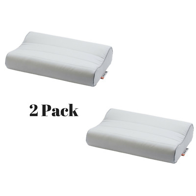 Ikea RÖlleka Memory Foam Sleep Pillows 2 Pack Protective Zippered Cover Bedroom