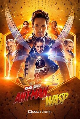 """Ant-Man and the Wasp MOVIE Silk Fabric POSTER 11""""x17"""" 24""""x36"""""""