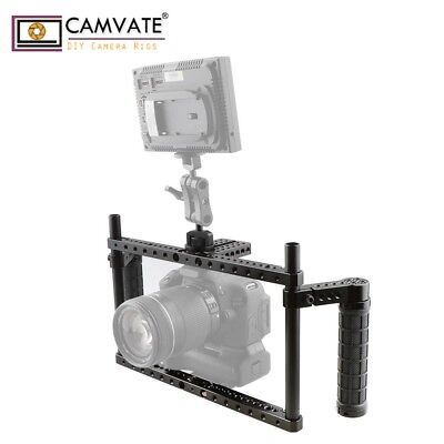 CAMVATE DSLR Camera Full-frame Cage Stabilizer fr Sony a7sii Nikon D800 D3S X-T2