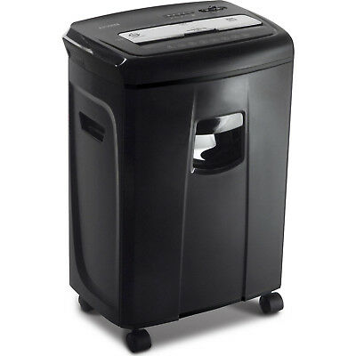 12-Sheet Crosscut Paper and Credit Card Shredder with Pullout Basket by Aurora