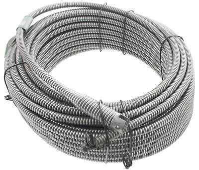 """Spartan Tool 13/32"""" x 75' Inner Core No. 8 Drain Cleaning Cable 3448805"""