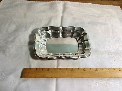 VTG Reed & Barton Sterling Silver Small Windsor Pin Tray X957~ 74 grams