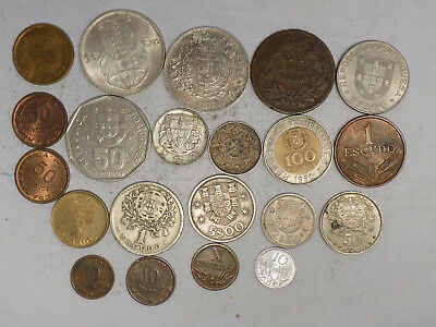 Portugal & Colonies 21 Coin Set - Silver and Colletibles (L27)