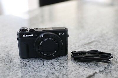 Canon g7x Mark II (GREAT CONDITION)