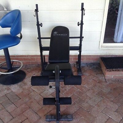 Weight Bench Incline Synergy Fitness