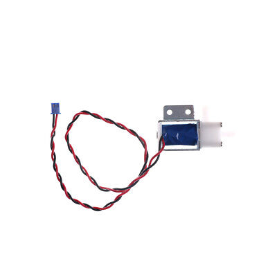 DC 12V Mini Electric Solenoid Valve Normally Open Fluid Air Gas Water Valve UK.
