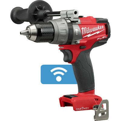 "MILWAUKEE 2706-20 M18 FUEL BRUSHLESS 1/2"" Hammer Drill/Driver ONE-KEY Tool Only"