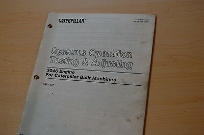 Cat 3046 engine repair manual array caterpillar 3406b engine system operation testing adjusting service rh picclick com fandeluxe Images