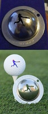 1 only TIN CUP GOLF BALL MARKER -GRAND SLAM - BUY ANY 2  CUPS get special offer