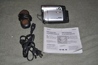 Samsung SC-DC164 DVD-RW Camcorder Digital Video w/Manual & Charger. Tested/Works