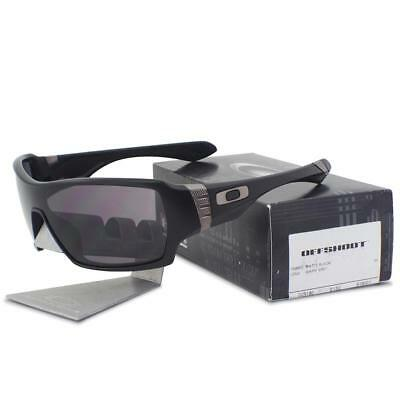 a42eb3f365 Oakley OO 9190-01 OFFSHOOT Polished Black with Warm Grey Lens Mens  Sunglasses