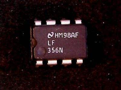 LF356N -  National Semiconductor Op Amp LF356  (DIP-8)