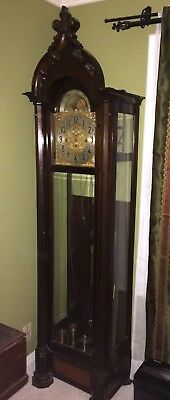 Herschede Model 260 9 Tube Hall Longcase Gothic Grandfather Clock