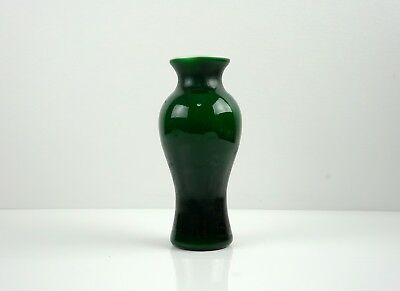 A Green Peking Glass Vase,19-20th Century