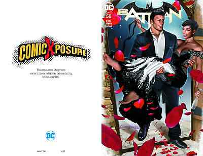 Batman 50 Comicxposure Greg Horn Exclusive A Variant Nm