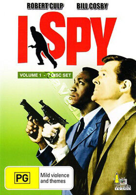 I Spy - Volume 1 NEW NTSC Series 7-DVD Set Earl Bellamy Robert Culp Bill Cosby