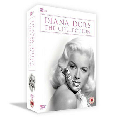Diana Dors Collection NEW PAL Classic 7-DVD Set