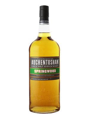 Auchentoshan Springwood Single Malt Scotch Whisky 1 Litre(Boxed)