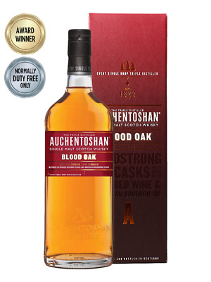 Auchentoshan Blood Oak Single Malt Scotch Whisky 700ml(Boxed)