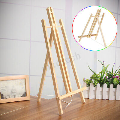 19''/16'' A4/A3 Wooden Easel Table Top Stand Display Beech Artist Painting Craft