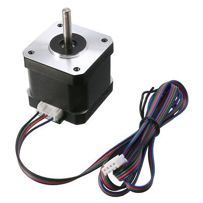 Stepper Motor 4-lead wire 1.8 Degree NEMA17 1.7A 40mm 2 Phase For 3D Printer New
