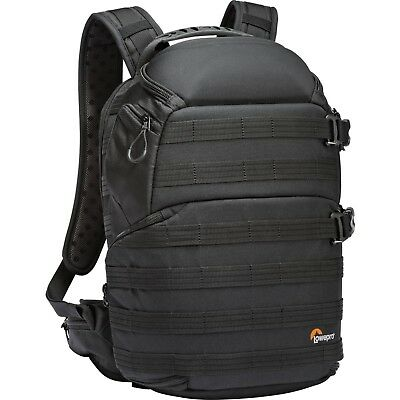 NEW Lowepro ProTactic 350 AW Pro DSLR Camera and Laptop Backpack (Black)