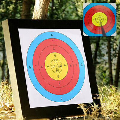 Straw Garden Archery Target Mat - For Recurve and Compound Bows - 50x50cm
