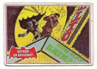 1966 Batman Red Bat (44A) Batman On Broadway