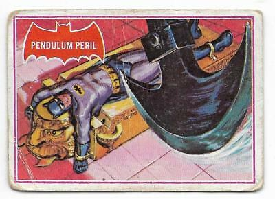 1966 Batman Red Bat (5A) Pendulum Peril