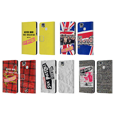 Official Sex Pistols Band Art Leather Book Wallet Case For Asus Zenfone Phones