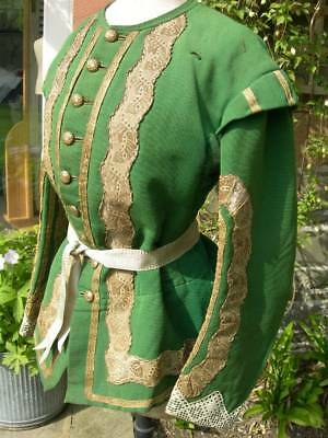 Fabulous vintage antique French theatre costume jacket