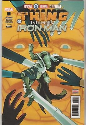 Marvel Comics Marvel Two In One Annual #1 August 2018 1St Print Nm
