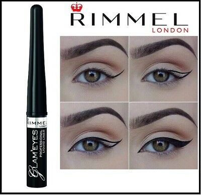 b03cc2ca560 RIMMEL GLAM'EYES PROFESSIONAL Liquid eyeliner 3.5ml Black 001 ...