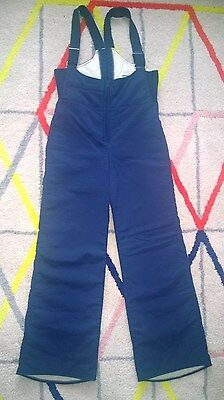 ***navy Blue Vintage Jumpsuit All In One 1970's Uk 8 /10 Small ***