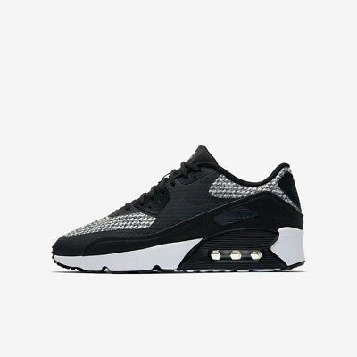 the best attitude ed6ac 5470f Nike Air Max 90 Maille Garçon Fille Baskets Course de Chaussure 4 - 6 Noir