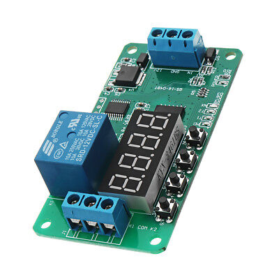 DC 12V CE030 Multifunction Self-lock Relay PLC Cycle Delay Timer Con