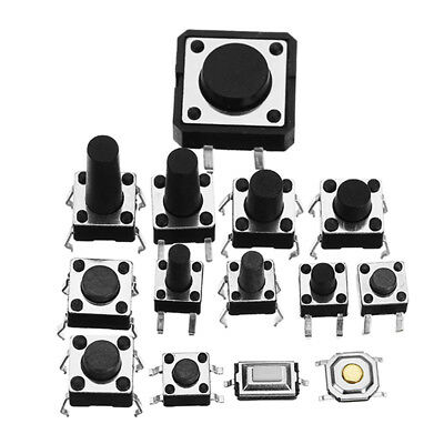 Total 120pcs Tactile Tact Mini Push Button Switch Packet Micro Switch B