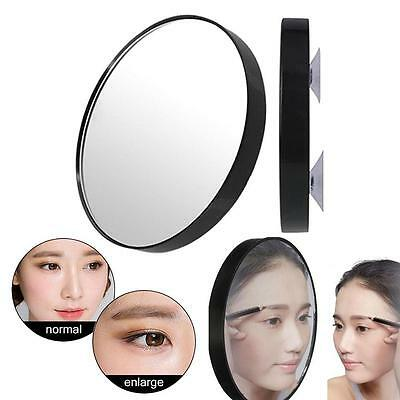POWERFUL 15 x MAGNIFYING BEAUTY MIRROR FOR APPLYING MAKEUP CONTACT LENS EYEBROW