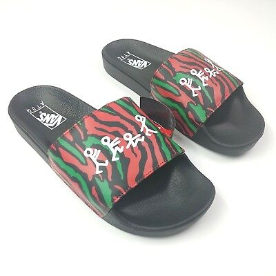 21141478f43d Vans x A Tribe Called Quest ATCQ SLIDE-ON Slides Men s 11 New Limited