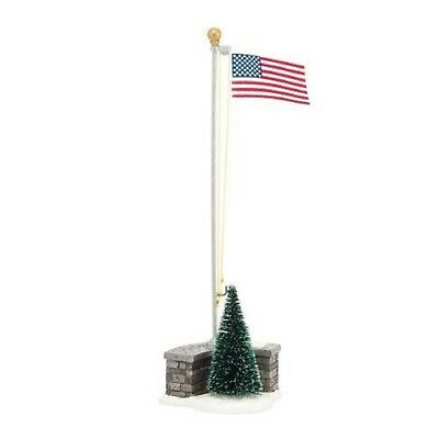 Dept 56 Village Accessories Stars And Stripes 4038808 Flag Pole with Flag